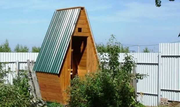Что делать, если сосед по даче установил уличный туалет возле вашего забора