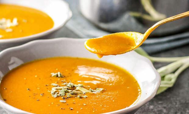 Суп-крем из тыквы для лета: просто смешиваем в блендере