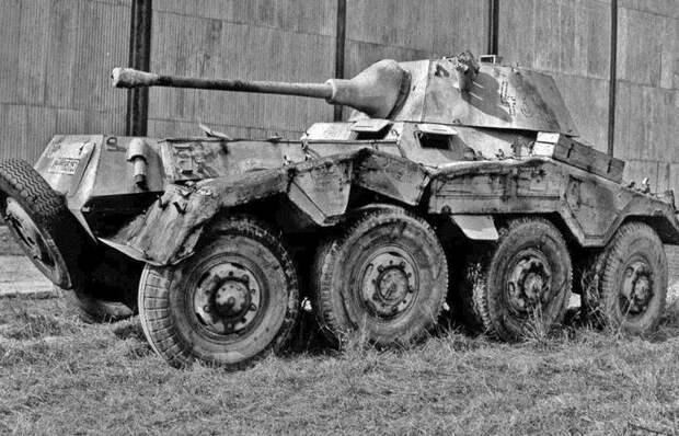 Хромая «Пума»: что представляла собой лучшая разведывательная машина Германии SDKFZ 234/2