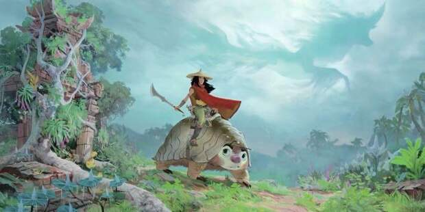 «Райя и последний дракон» стал лидером проката
