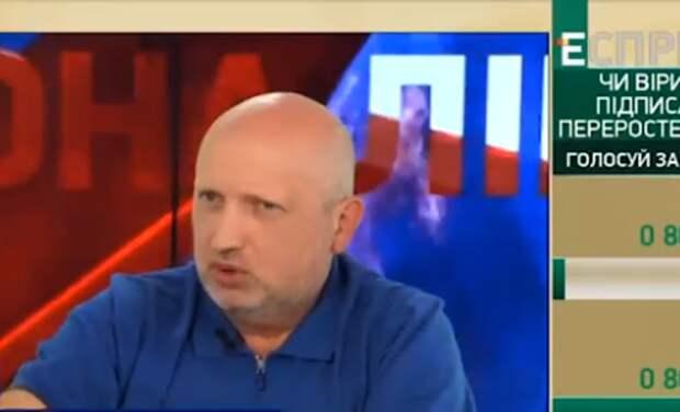 Турчинов сообщил, когда Украина начнёт настоящую войну за Крым