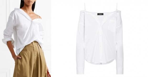 """Белая блузка """"с зайчиком"""" * (подборка)"""