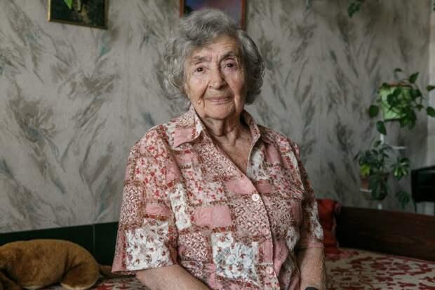 Ветеран из района Лефортово Дора Вайнберг поведала о своей работе во время войны