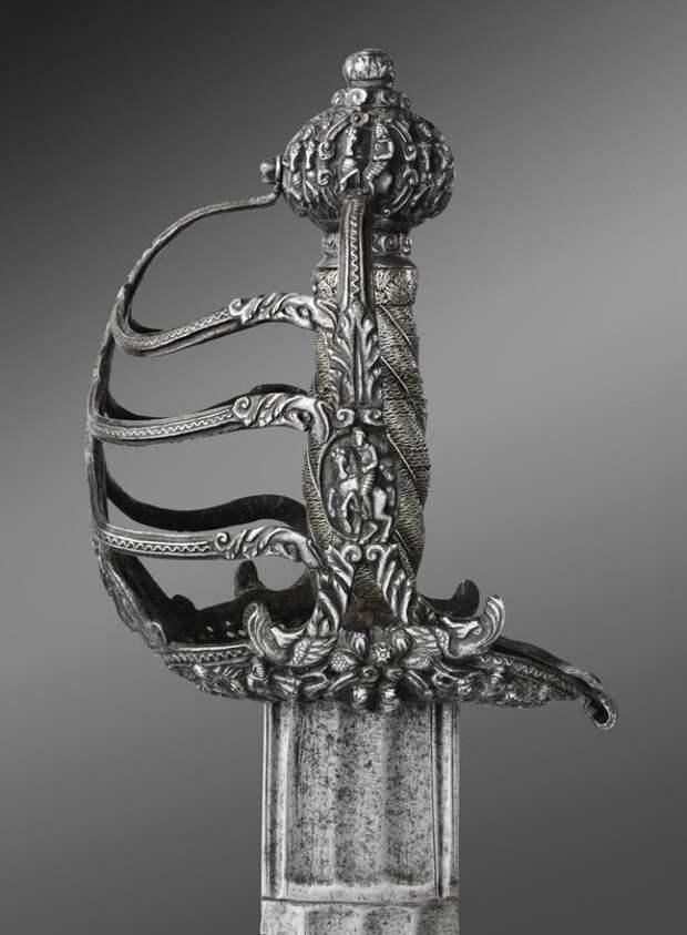 Палаш Оливера Кромвеля. Англия, 1650-е годы.