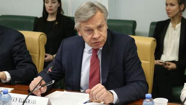 Пушков назвал три причины общения Байдена с Путиным на саммите