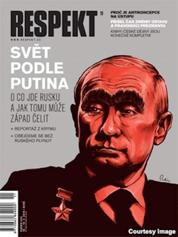 Чешскому Respekt больше по душе образ Брежнева издания, издевательство, интересное, мир, обложки, политики, странное