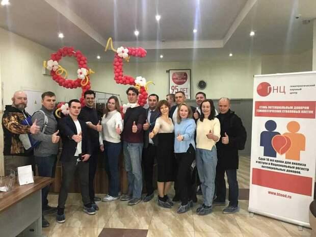 Триумфаторы конкурса «Лидеры России» станут донорами костного мозга