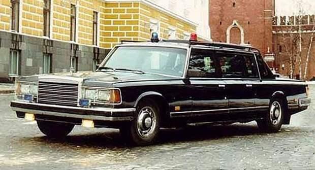 В США выставили на продажу раритетный советский лимузин