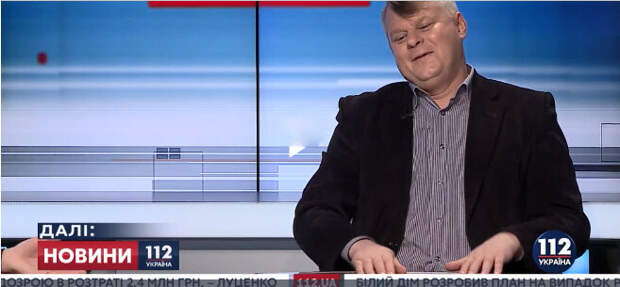 фото: 112.ua. Пан Трюхан - украинский дипломат, эксперт и соловей.