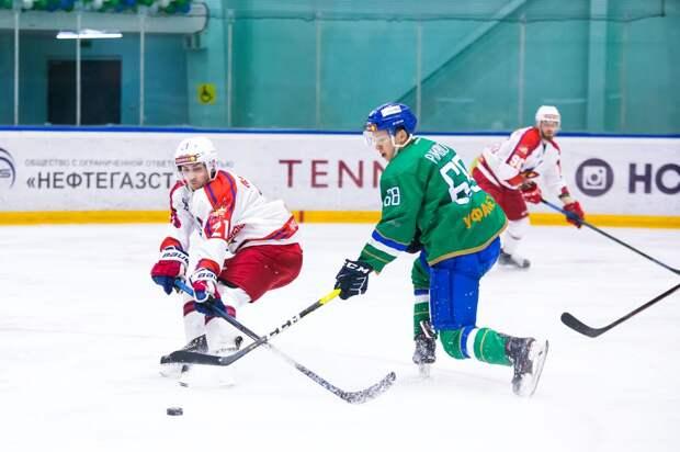 Хоккеисты «Ижстали» обыграли на выезде нефтекамский «Торос»