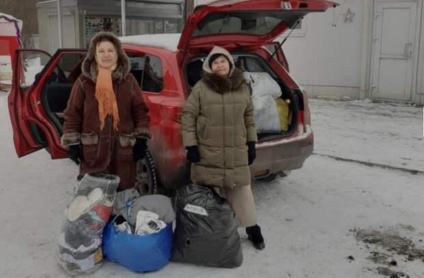 Волонтеры из Куркина помогли нуждающимся в деревне Дивеево