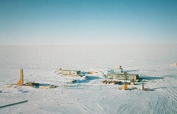 60 лет антарктической станции Восток