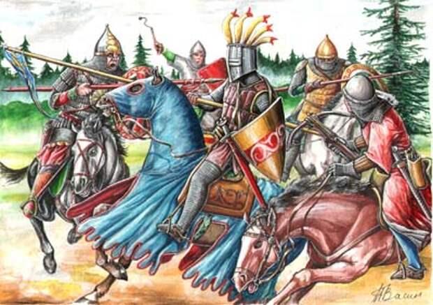 Шведско-новгородская война 1348-1351 годов.