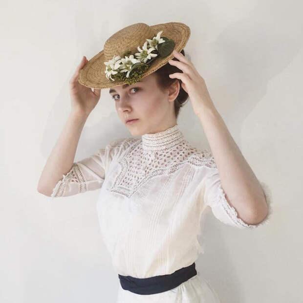 Образ, навеянный модой 1900-х годов.