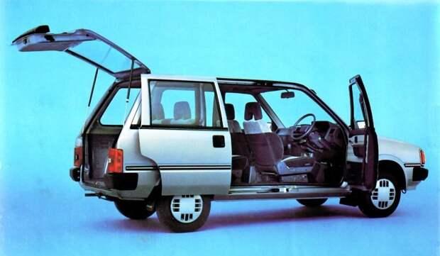 Nissan Prairie стал предвестником бума минивэнов, разразившегося позднее во всем мире. nissan, авто, автомобили, минивэн