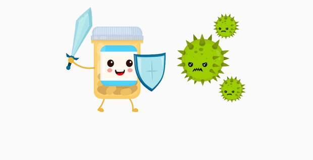 Мифы и правда об антибиотиках
