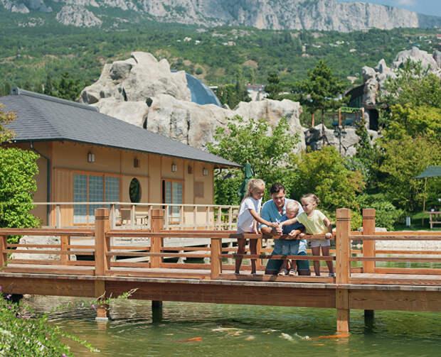 «Дримвуд» и Японский сад в отеле Mriya снова открываются для туристов