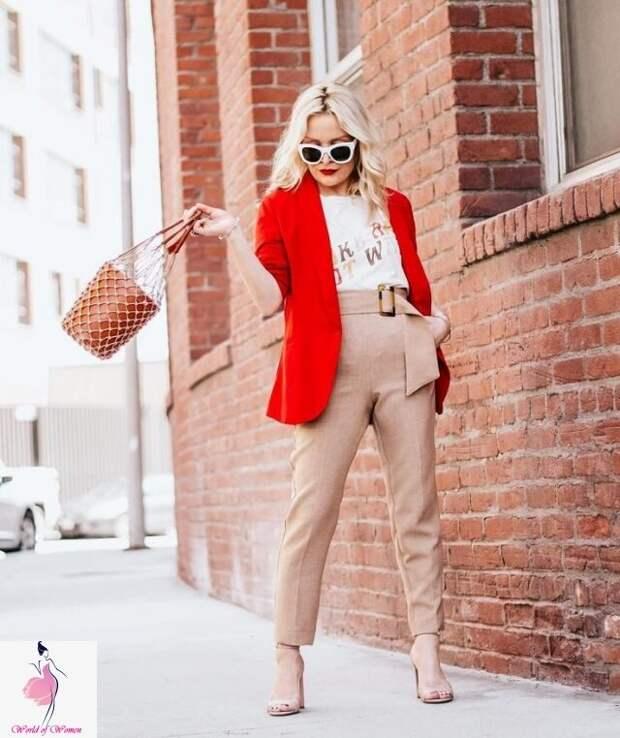 Весенний образ дамы 40-50 лет: одежда на любой случай