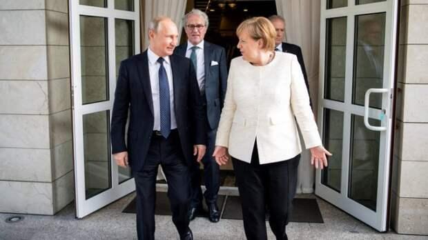 Bild о приезде Меркель в Сочи: «Путин показал ей, кто в доме хозяин»