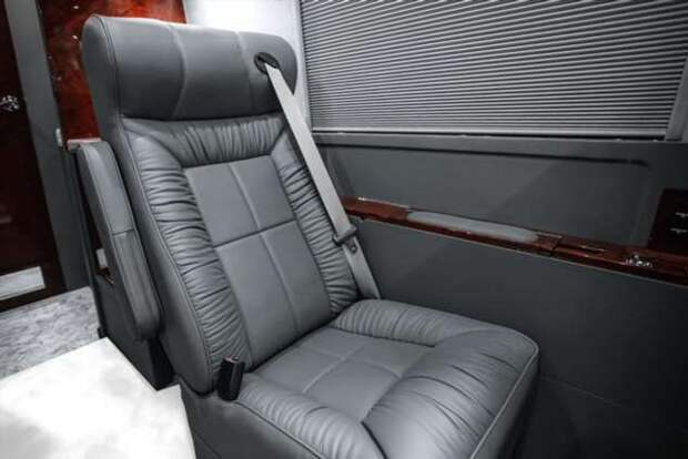 Пуленепробиваемый Mercedes Sprinter стоимостью 550 000 долларов