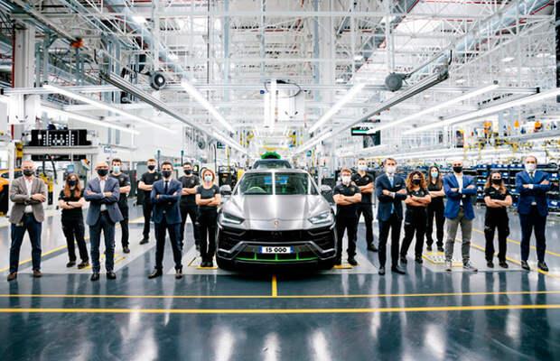 Lamborghini уже выпустила 15 000 Urus