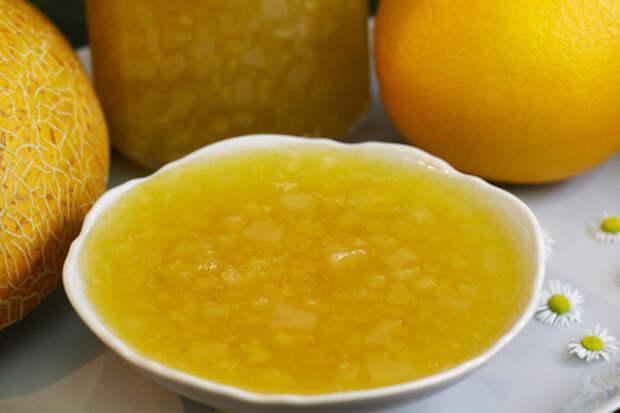 Варенье из дыни и апельсина с пектином на зиму