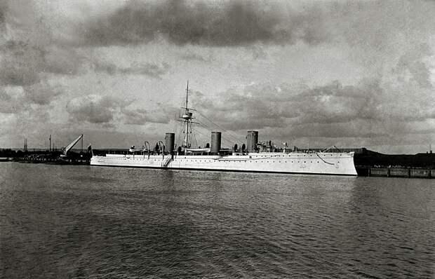 Бронепалубный крейсер 2-го ранга «Новик».
