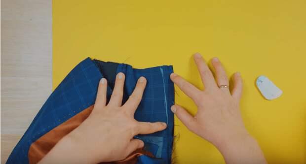 Прекрасная переделка пиджака: превращаем мужской пиджак в оригинальный женский костюм