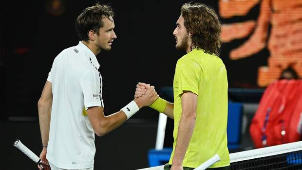 Циципас: «Не удивлюсь, если Медведев выиграет Australian Open. Даниил — это игрок, у которого есть практически все»