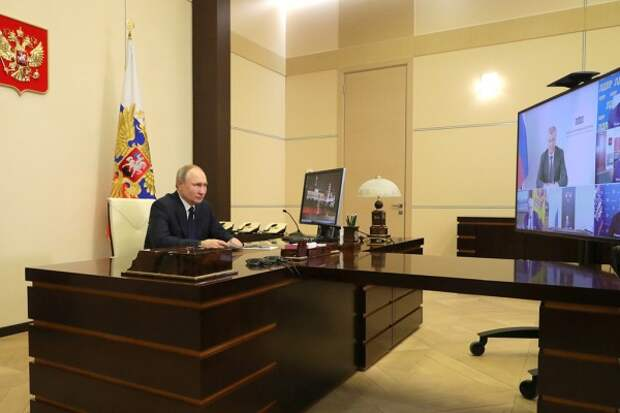 "Путин и ""большая четвёрка"" (видео)"