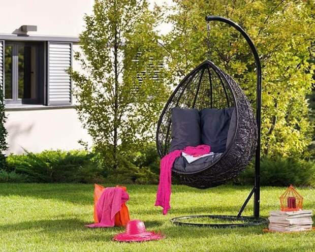 Идеи для оформления садового дворика