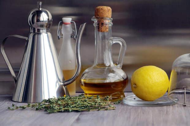 Оливковое масло с лимоном
