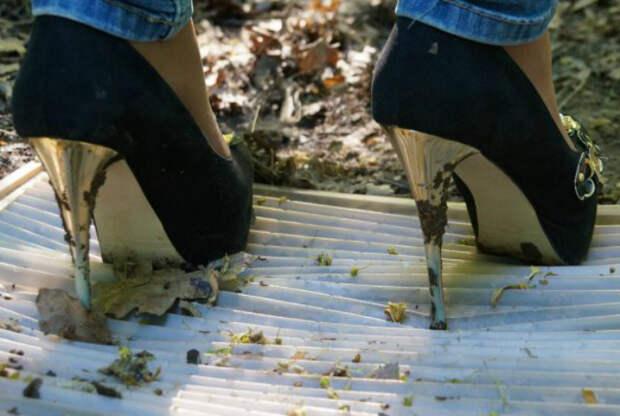 Неухоженная, грязная обувь. | Фото: Женские секреты.