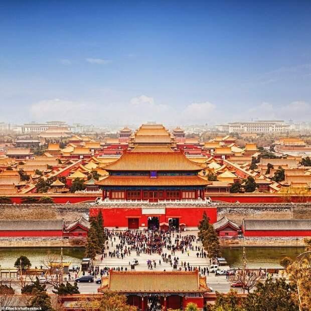 4. Запретный город, Пекин, Китай красивые места, места, мир, путешествия, рейтинг, страны, туризм, фото