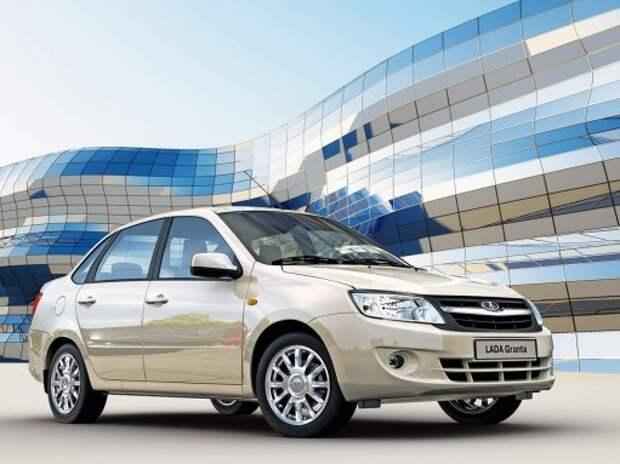 Продажи новых Lada в России упали в январе на 26%
