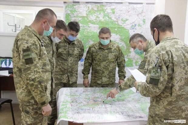 Американцы подготовили украинскую мотопехотную бригаду к полному уничтожению в Донбассе