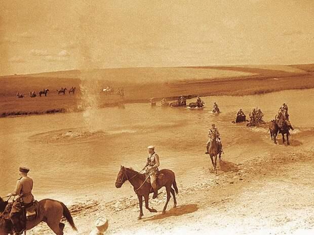 Переходим эту реку вброд Форсирование водных преград русской и советской кавалерией