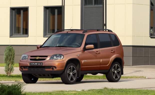 Chevrolet Niva получила ограниченную спецсерию в 300 экземпляров