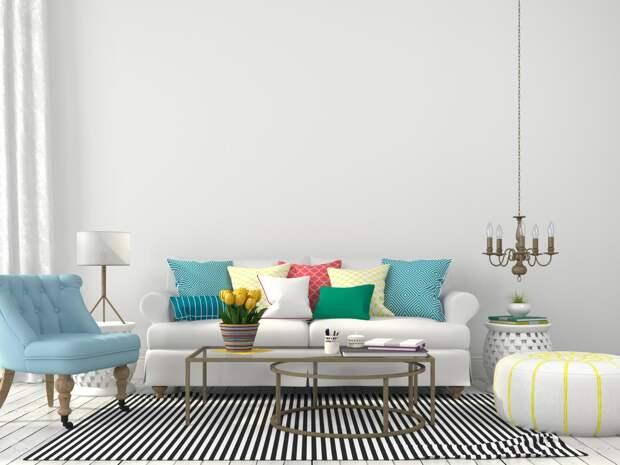 Затраты — минимальные, результат — максимальный: обновляем интерьер дома к весне