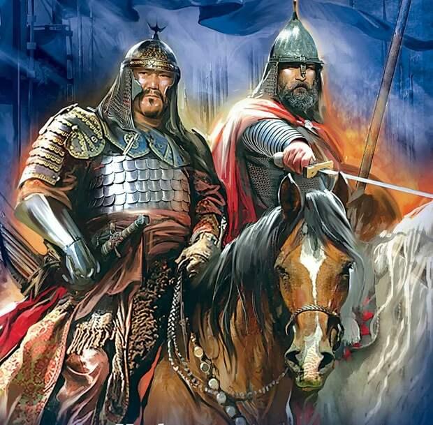 Побратимы Александр и Сартак