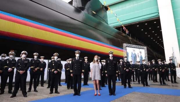 В Испании начали спуск на воду головной субмарины проекта S-80 Plus