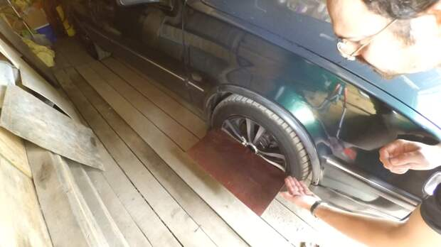 """Как выставить """"сход-развал"""" без стенда авто, обслуживание, ремонт авто, ремонт автомобилей, своими руками, сход-развал, схождение колес"""
