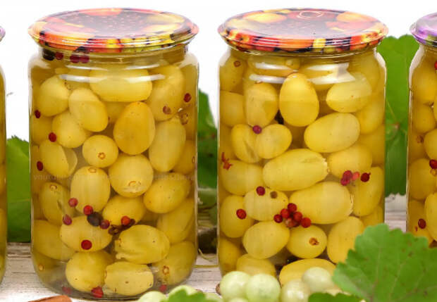 Закатываем на зиму не овощи, а виноград: заготовка в кисло-сладкой заливке