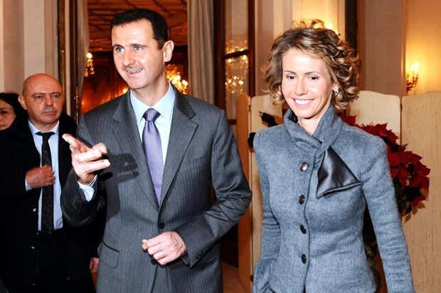 Под новые санкции США попадут президент и первая леди Сирии