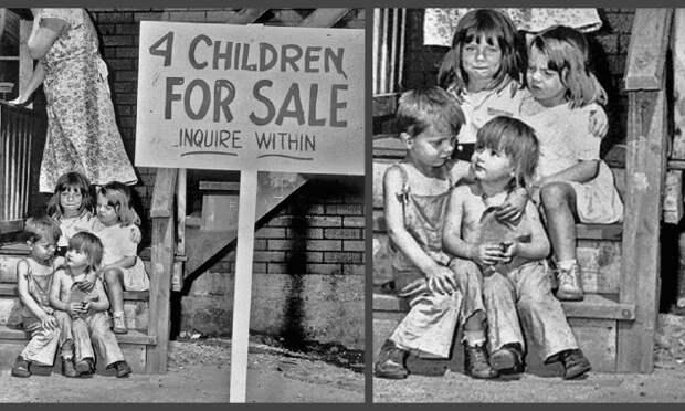4 августа 1948 - Чикаго, штат Иллинойс: Аукцион по продаже маленьких детей мистера и миссис Рэй Чалифукс. Чикаго, штат Иллинойс.