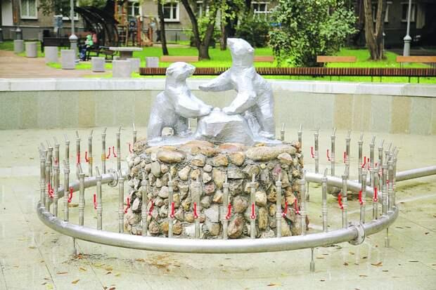 Исторический фонтан на Бориса Галушкина получил новую жизнь