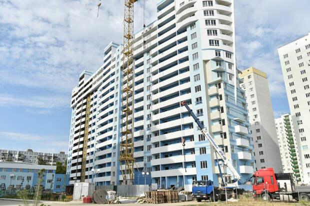 На Кубани увеличился ввод жилья