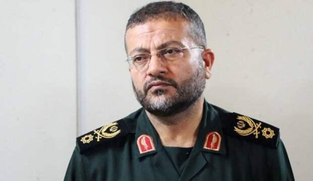 Командир «Басидж» Голамреза Солеймани