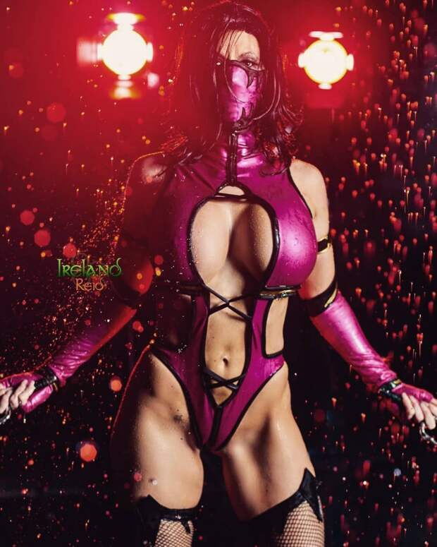 Лучший косплей Милины из Mortal Kombat