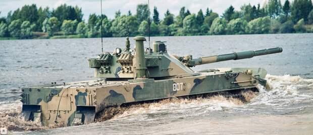 Россия представила уникальный легкий танк «Спрут-СДМ1»